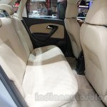 VW Ameo rear seats at Auto Expo 2016