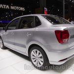 VW Ameo rear three quarter left at Auto Expo 2016