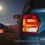 VW Ameo taillight press shots