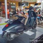 Vespa 946 Armani 125 rear quarter at Auto Expo 2016
