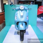 Vespa GTS 300 ABS front at Auto Expo 2016