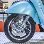 Vespa GTS 300 ABS front disc brake at Auto Expo 2016