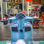 Vespa GTS 300 ABS handlebar at Auto Expo 2016