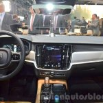 Volvo S90 dashboard at the 2016 Geneva Motor Show Live