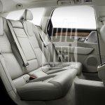 Volvo V90 rear seats leaked
