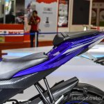 Yamaha R15 V2 Revving Blue split seat at Auto Expo 2016