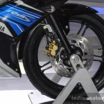 Yamaha R15S front disc brake at Auto Expo 2016