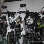 Yamaha Saluto bikini fairing at Auto Expo 2016