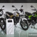 Yamaha Saluto colours at Auto Expo 2016