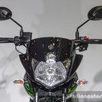 Yamaha Saluto headlamp at Auto Expo 2016