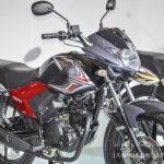 Yamaha Saluto red at Auto Expo 2016