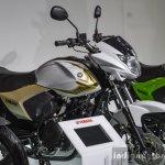 Yamaha Saluto white at Auto Expo 2016