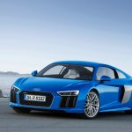 2016 Audi R8 front three quarters
