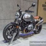 2016 BMW R nineT Scrambler front quarter at 2016 BIMS