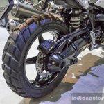 2016 BMW R nineT Scrambler rear tyre at 2016 BIMS
