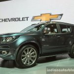 2016 Chevrolet Trailblazer Premier (facelift) front quarter at 2016 BIMS