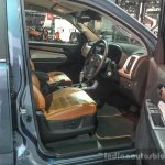 2016 Chevrolet Trailblazer Premier (facelift) front seat at 2016 BIMS