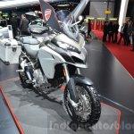 2016 Ducati Multistrada 1200 Enduro front quarter at 2016 Geneva Motor Show