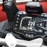 2016 Ducati Multistrada 1200 Enduro instrument console at 2016 Geneva Motor Show