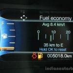 2016 Ford Endeavour 2.2 AT Titanium average fuel economy Review