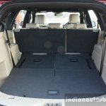 2016 Ford Endeavour 2.2 AT Titanium boot volume with third row folded Review