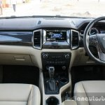 2016 Ford Endeavour 2.2 AT Titanium dashboard Review