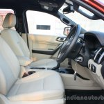 2016 Ford Endeavour 2.2 AT Titanium driver area Review