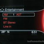2016 Ford Endeavour 2.2 AT Titanium entertainment options Review