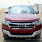 2016 Ford Endeavour 2.2 AT Titanium front close Review