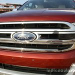 2016 Ford Endeavour 2.2 AT Titanium grille Review