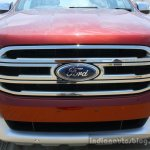 2016 Ford Endeavour 2.2 AT Titanium grille far Review