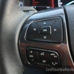 2016 Ford Endeavour 2.2 AT Titanium left spoke Review