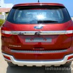 2016 Ford Endeavour 2.2 AT Titanium rear Review