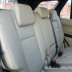 2016 Ford Endeavour 2.2 AT Titanium rear seat Review