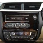 2016 Honda Amaze 1.2 VX (facelift) center console First Drive Review