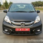 2016 Honda Amaze 1.2 VX (facelift) front First Drive Review
