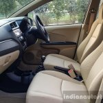 2016 Honda Amaze 1.2 VX (facelift) front cabin First Drive Review