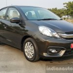 2016 Honda Amaze 1.2 VX (facelift) front three quarter right First Drive Review
