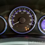2016 Honda Amaze 1.2 VX (facelift) instrument cluster First Drive Review