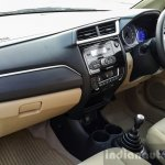 2016 Honda Amaze 1.2 VX (facelift) passenger area First Drive Review