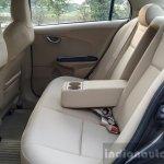 2016 Honda Amaze 1.2 VX (facelift) rear cabin First Drive Review