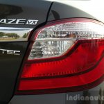 2016 Honda Amaze 1.2 VX (facelift) taillamp First Drive Review
