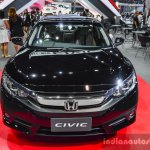 2016 Honda Civic (ASEAN-spec) front at 2016 BIMS