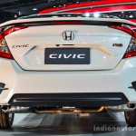 2016 Honda Civic RS (ASEAN-spec) rear at 2016 BIMS