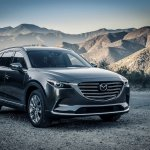2016 Mazda CX-9 front three quarters right side