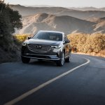 2016 Mazda CX-9 front three quarters