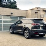 2016 Mazda CX-9 rear three quarters left side