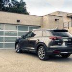 2016 Mazda CX-9 rear three quarters left side