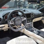 2016 Mercedes SL dashboard at the 2016 Geneva Motor Show