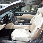 2016 Mercedes SL front seats at the 2016 Geneva Motor Show